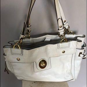 Coach Cream Patton leather bag
